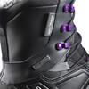 Salomon W's Toundra Pro CSWP Shoes Black/Black/Passion Purple